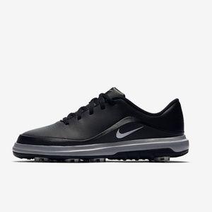 Nike black golf sneakers 6Y womens 7.5 mens 6